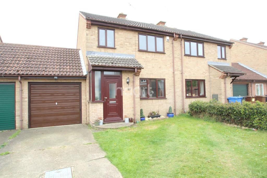 3 Bedrooms Semi Detached House for sale in Worcester road, Ipswich