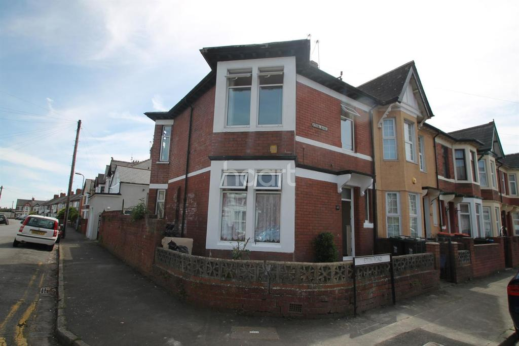 3 Bedrooms End Of Terrace House for sale in Eton Road, Newport