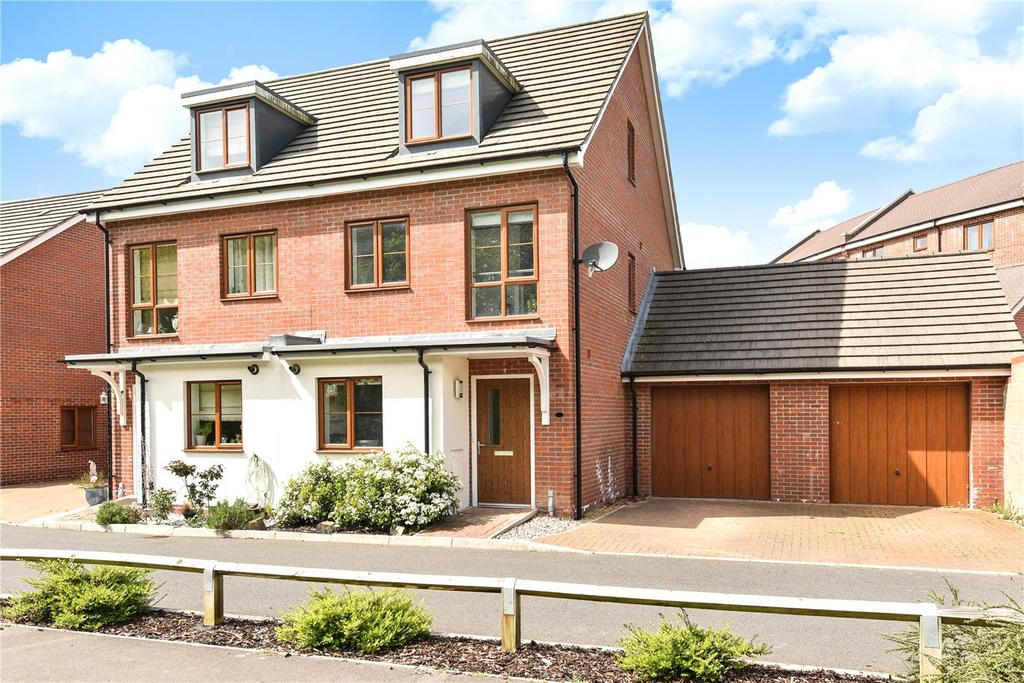 3 Bedrooms Semi Detached House for sale in Sheepwash Court, Basingstoke, Hampshire, RG24