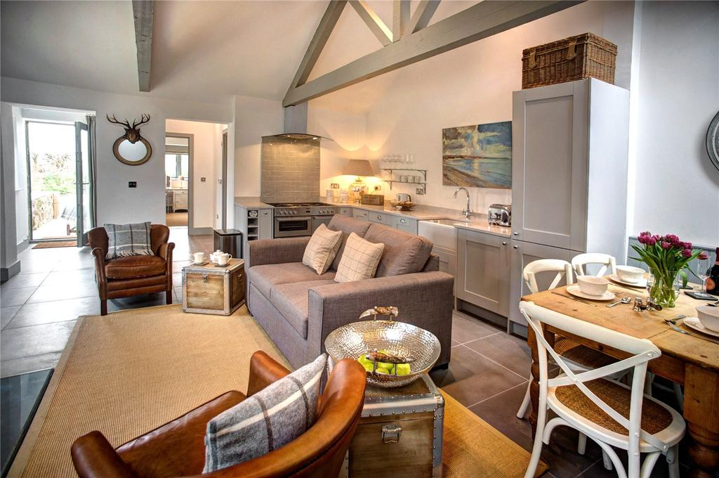 1 Bedroom House for sale in Mulberry Cottage, Budle Barns, Bamburgh, Northumberland