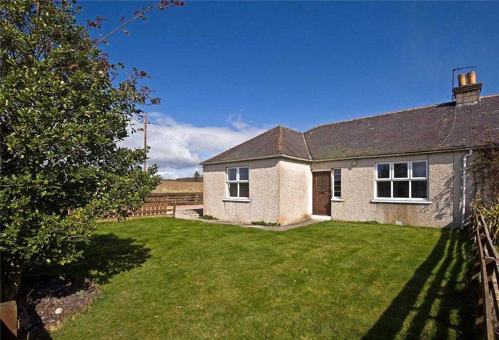 3 Bedrooms Semi Detached Bungalow for sale in Netherton Cottar Houses, Kemnay, Inverurie, Aberdeenshire