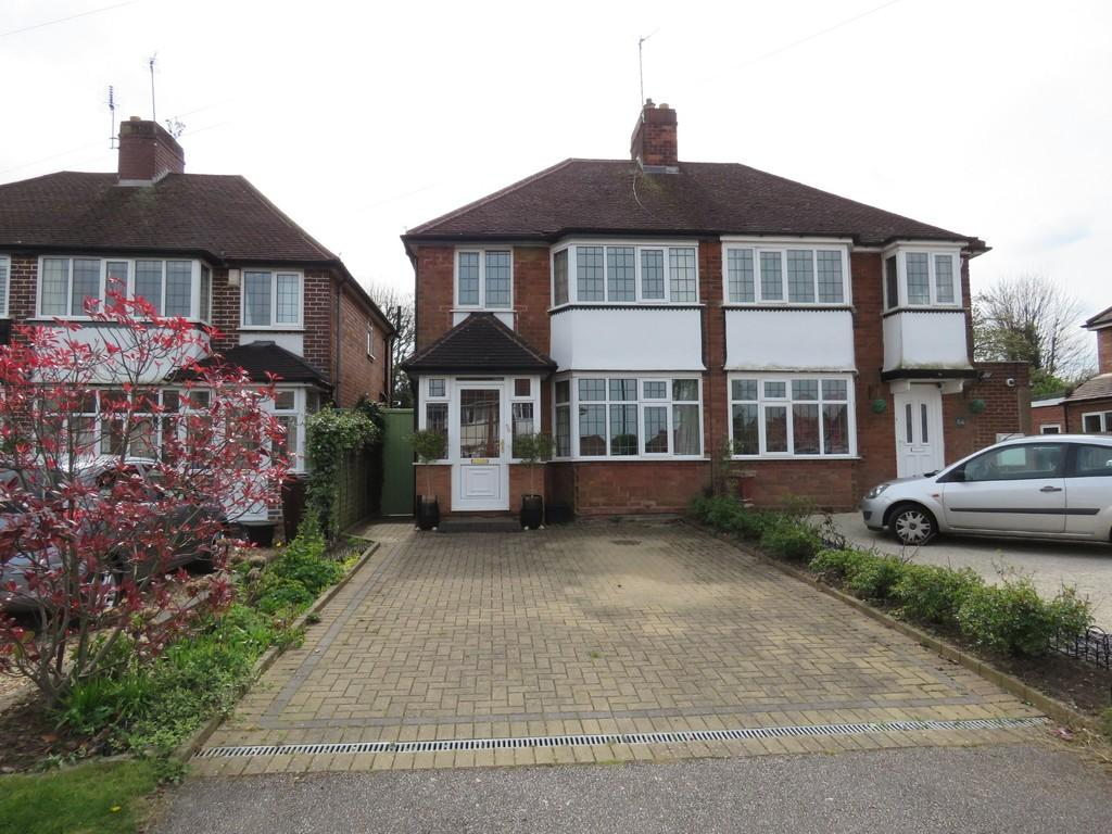 3 Bedrooms Semi Detached House for sale in Redlands Road, Solihull