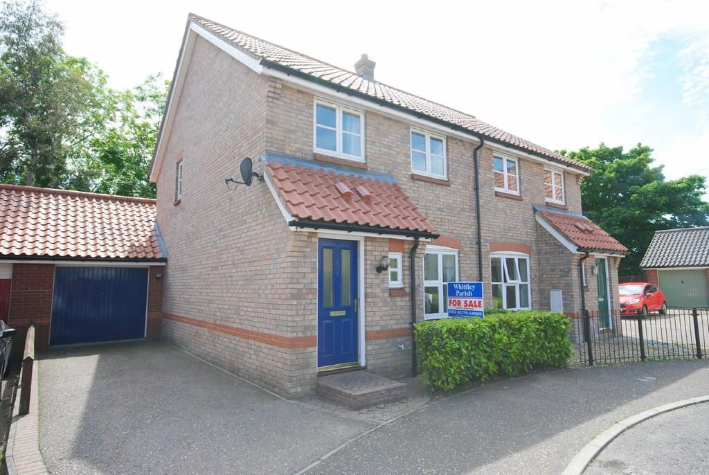 3 Bedrooms Semi Detached House for sale in Cornfields, Dickleburgh