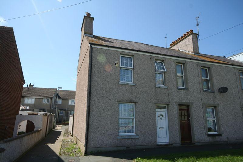 3 Bedrooms End Of Terrace House for sale in Queens Park, Holyhead, Anglesey