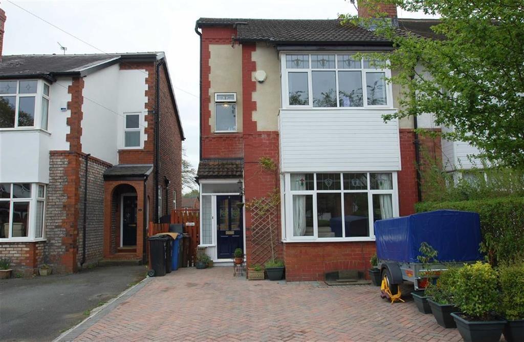 3 Bedrooms Semi Detached House for sale in Hazelwood Road, Woodsmoor, Stockport