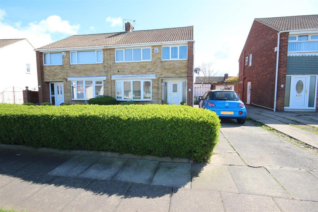 3 Bedrooms Semi Detached House for sale in Caistor Drive, Hartlepool