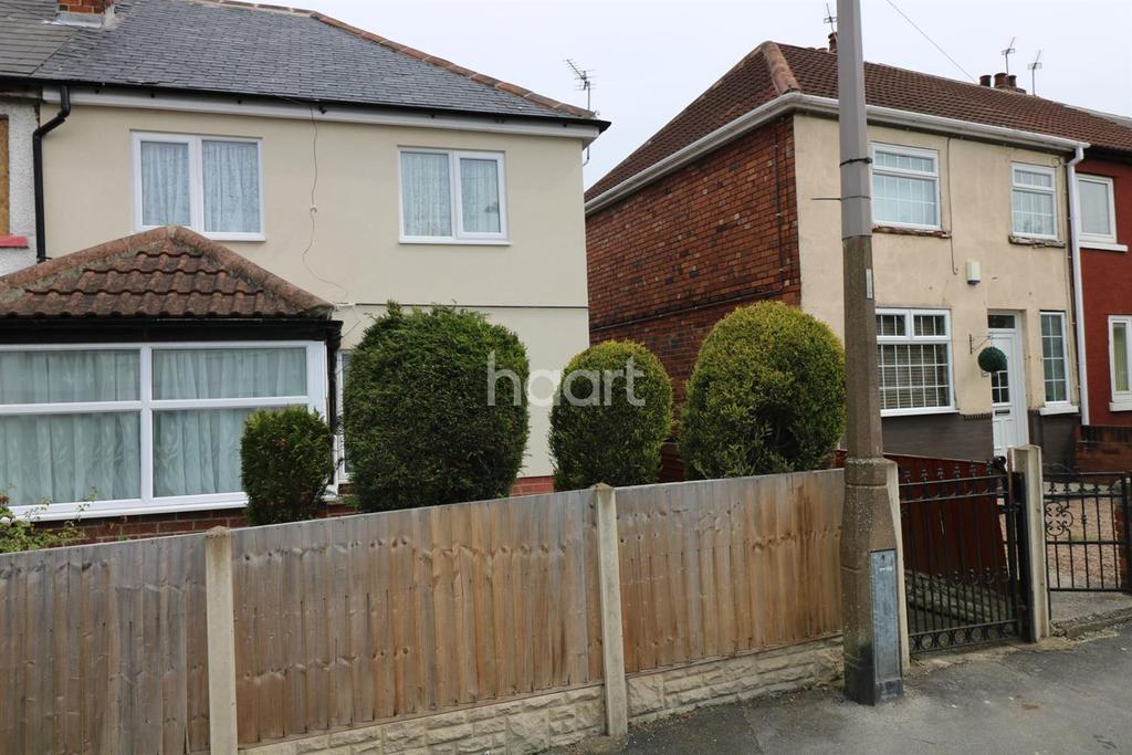 3 Bedrooms End Of Terrace House for sale in Kings Crescent, Edlington