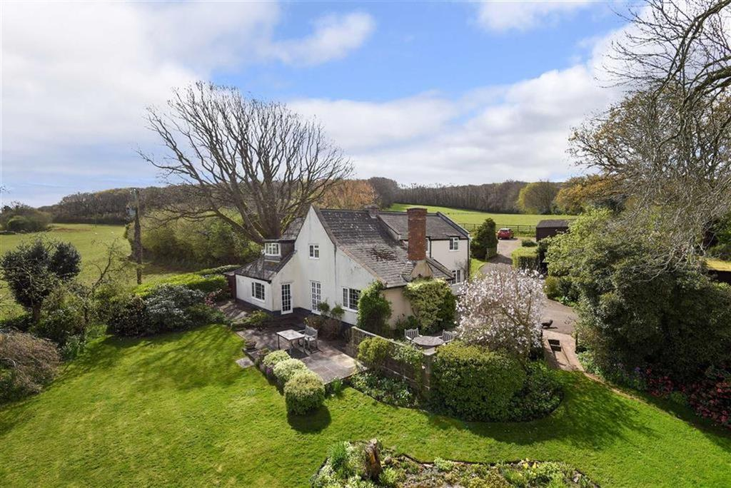 3 Bedrooms Detached House for sale in Bincombe, Over Stowey, Bridgwater, Somerset, TA5