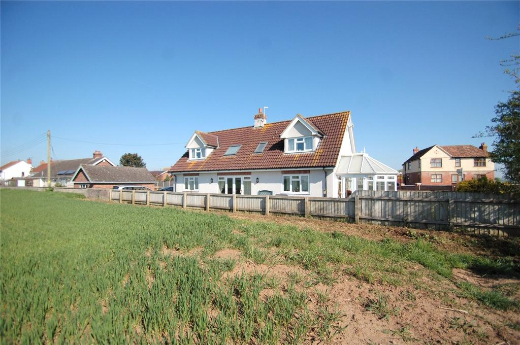 4 Bedrooms Detached House for sale in Main Road, WESTONZOYLAND, Bridgwater, Somerset, TA7
