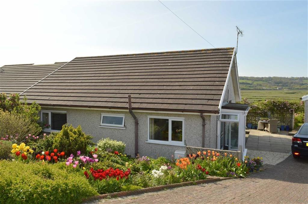 2 Bedrooms Semi Detached Bungalow for sale in Salthouse Close, Crofty, Swansea