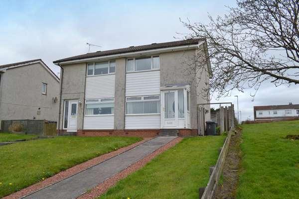 2 Bedrooms Semi-detached Villa House for sale in 8 Stoneyetts Road, Moodiesburn, Glasgow, G69 0AQ