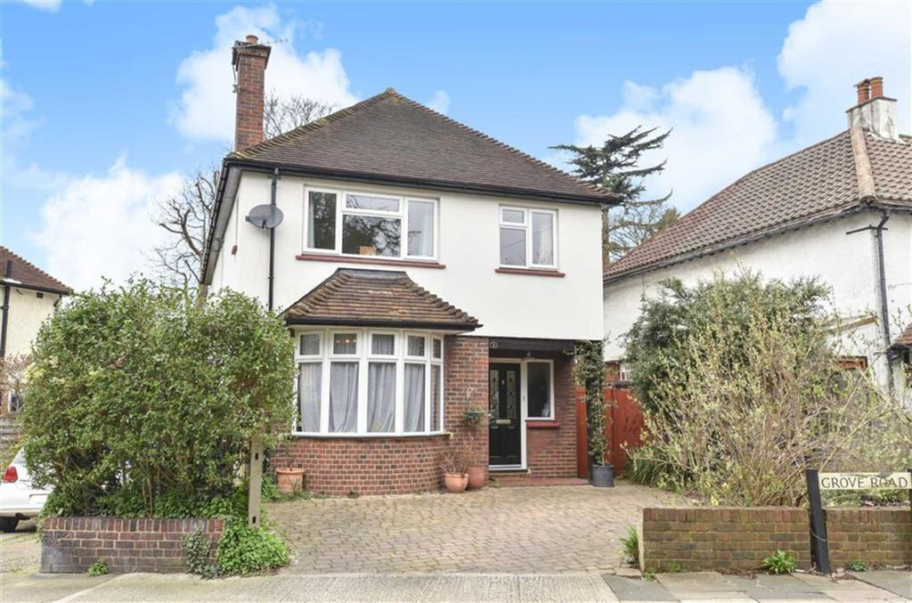 4 Bedrooms Detached House for sale in Grove Road, Epsom, Surrey