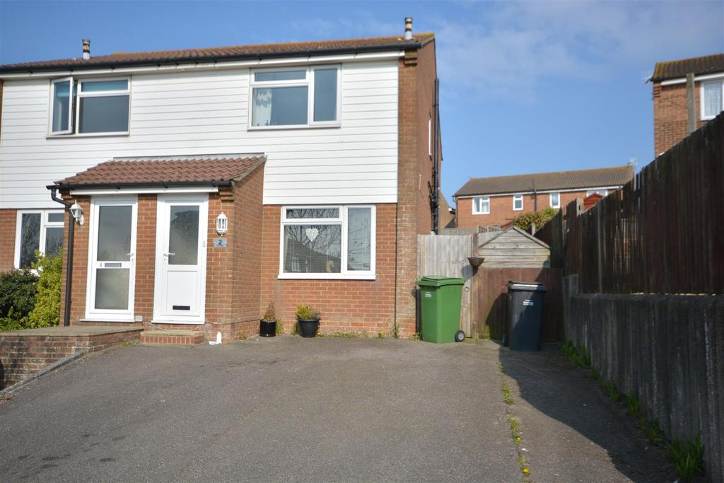 2 Bedrooms Semi Detached Bungalow for sale in Field Way, St. Leonards-On-Sea