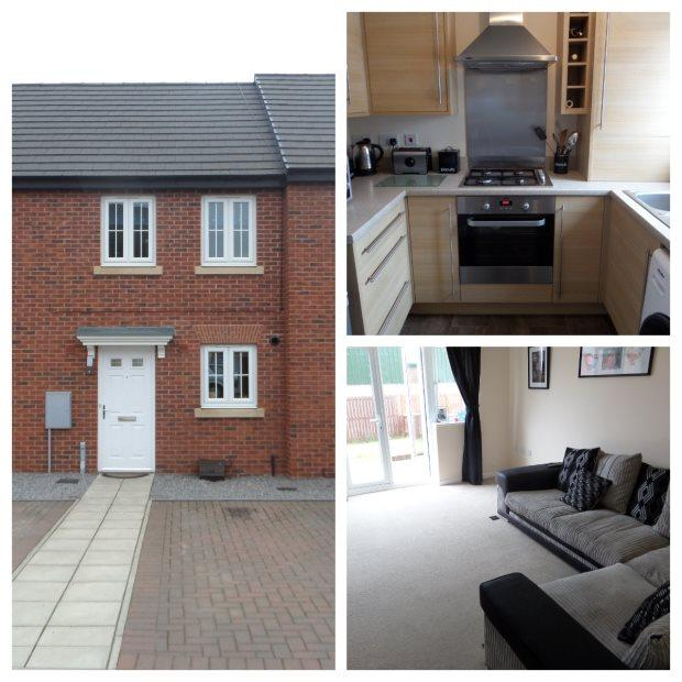 2 Bedrooms Town House for sale in SANDGATE, COXHOE, DURHAM CITY : VILLAGES EAST OF