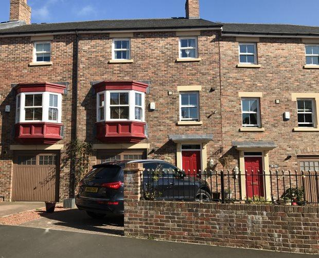 4 Bedrooms Terraced House for sale in DALTON CRESCENT, NEVILLES CROSS, DURHAM CITY