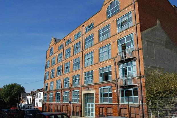 2 Bedrooms Apartment Flat for sale in Church's Factory, Duke Street, Northampton, NN1