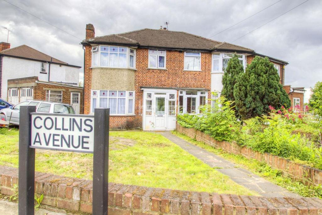 3 Bedrooms Semi Detached House for sale in Collins Avenue, Stanmore, HA7