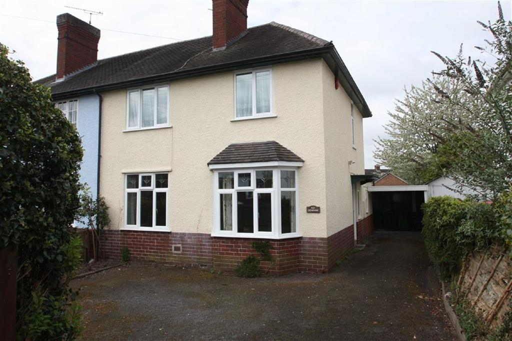 3 Bedrooms Semi Detached House for sale in Oakfield Road, Copthorne, Shrewsbury
