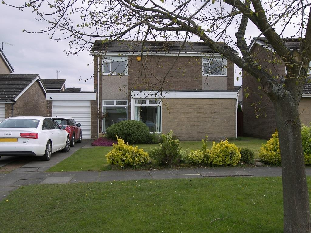 3 Bedrooms Detached House for sale in Pinewood Drive, Lancaster Park, Morpeth
