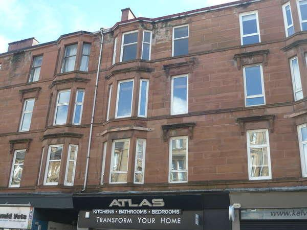 2 Bedrooms Flat for sale in 1/2, 118 Queen Margaret Drive, Glasgow, G20 8NZ