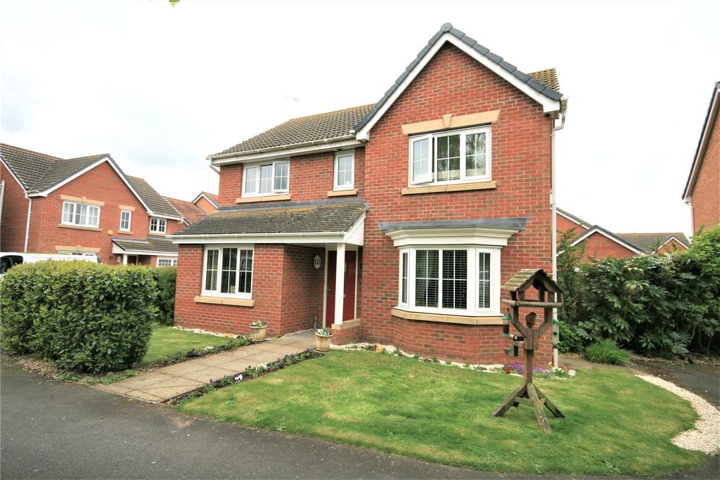 4 Bedrooms Detached House for sale in Augustus Close, North Hykeham, LN6