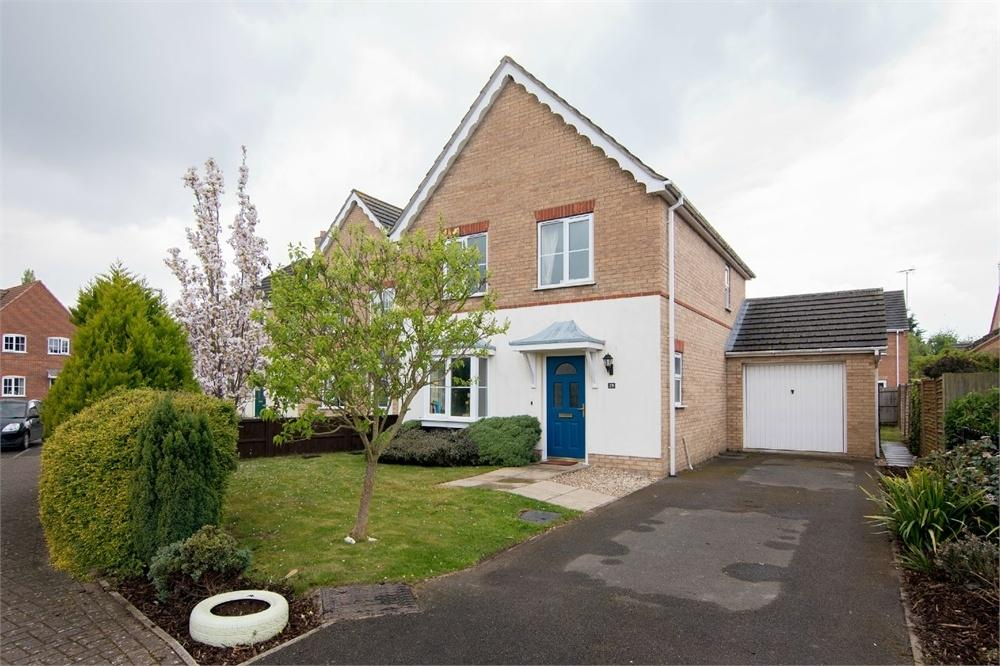 3 Bedrooms Detached House for sale in Thomas Middlecott Drive, Kirton, Boston, Lincolnshire