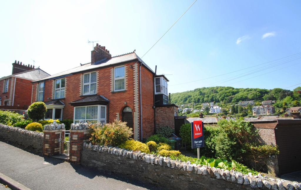 3 Bedrooms Semi Detached House for sale in Furse Hill Road, Ilfracombe