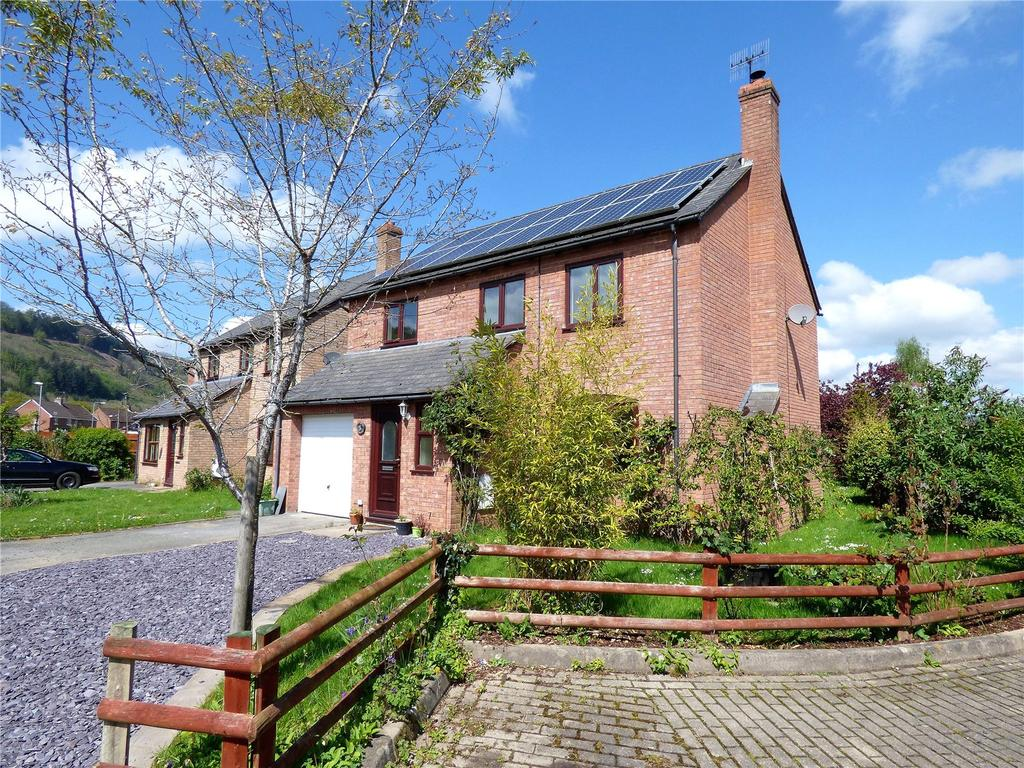 4 Bedrooms Detached House for sale in Beeches Park, Boughrood, Brecon, Powys
