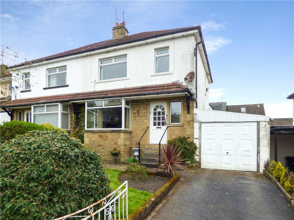 3 Bedrooms Semi Detached House for sale in Florence Avenue, Wilsden, West Yorkshire