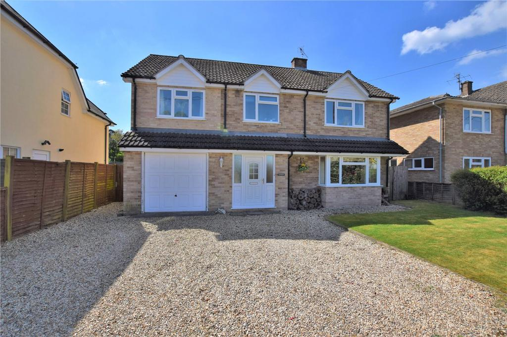 4 Bedrooms Detached House for sale in Palmers Lane, Burghfield Common, Berkshire, RG7