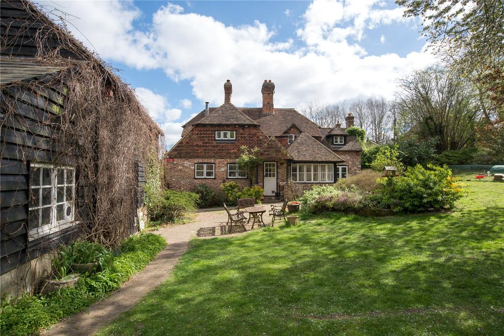 4 Bedrooms Detached House for sale in The Street, Petham, Canterbury, Kent