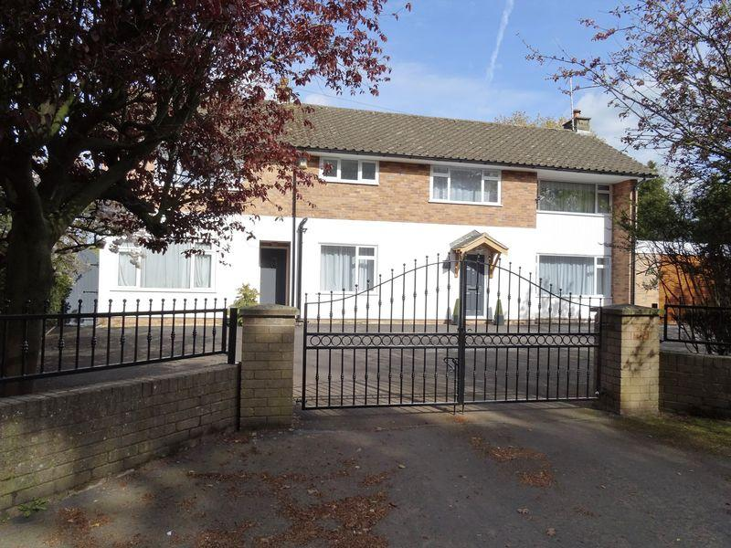 5 Bedrooms Detached House for sale in Jeffreys Road, Wrexham