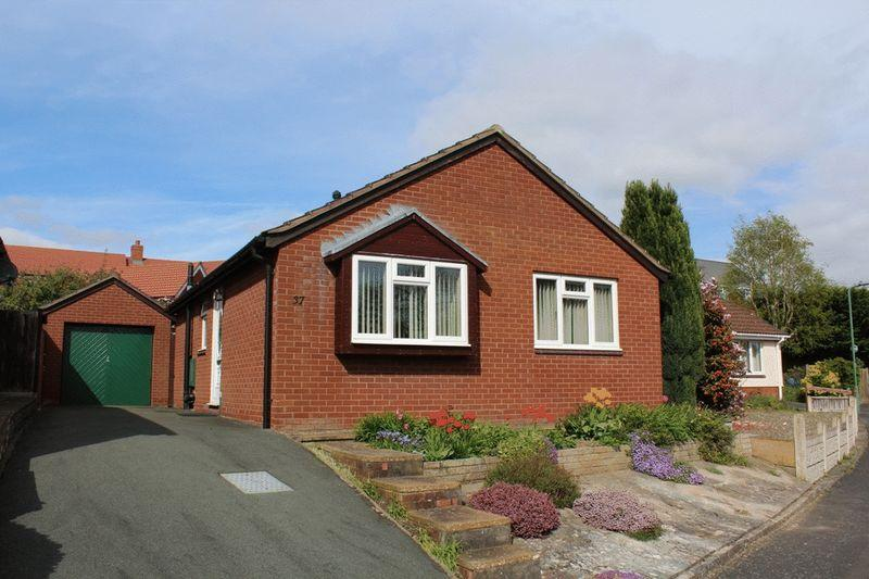 2 Bedrooms Detached Bungalow for sale in Falcons Way, Copthorne, Shrewsbury, SY3 8ZG