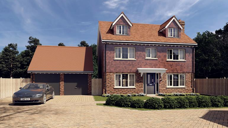 5 Bedrooms Detached House for sale in Penny Close, Hubbards Lane, Boughton Monchelsea, Kent, ME17 4HY