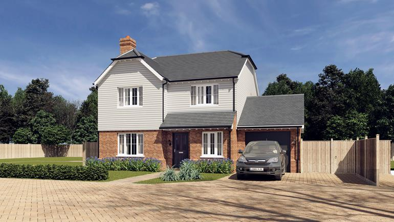 4 Bedrooms Detached House for sale in Penny Close, Hubbards Lane, Boughton Monchelsea, Kent, ME17 4HY