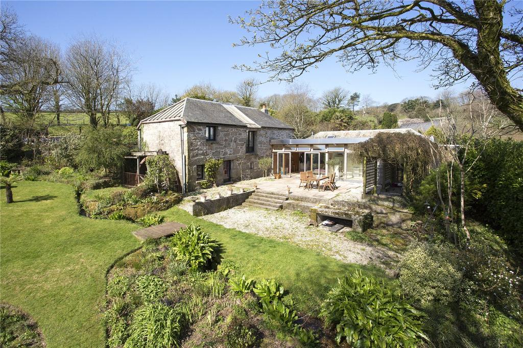 5 Bedrooms Unique Property for sale in Lanlivery, Lostwithiel, Mid-Cornwall, PL30