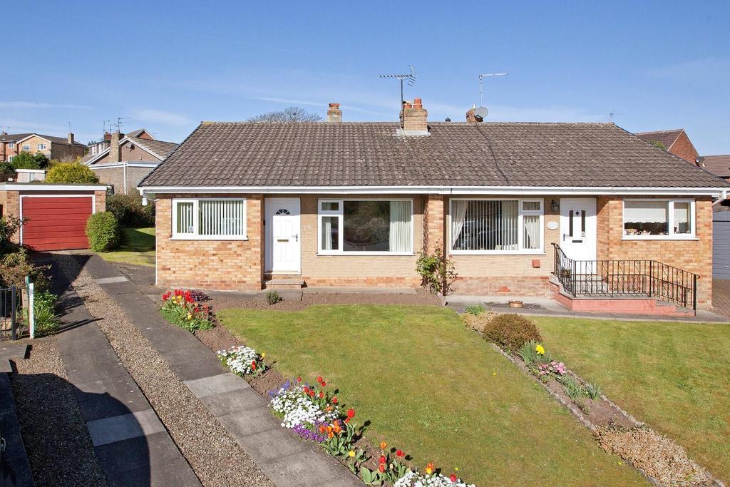 2 Bedrooms Bungalow for sale in Manor Drive, Knaresborough