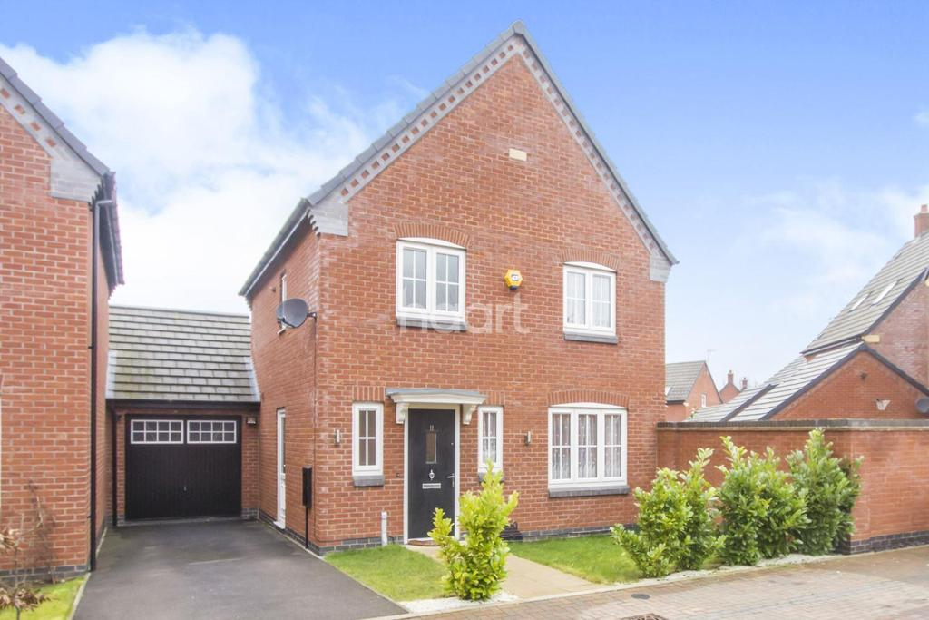 3 Bedrooms Detached House for sale in Countesthorpe, Leicester