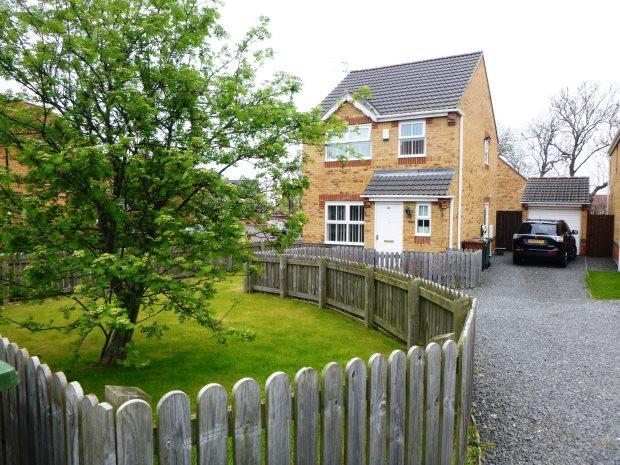 3 Bedrooms Detached House for sale in HALESWORTH DRIVE, HAVELOCK PARK, SUNDERLAND SOUTH