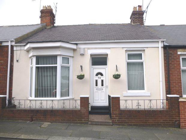 3 Bedrooms Terraced Bungalow for sale in QUEENS CRESCENT, BARNES, SUNDERLAND SOUTH