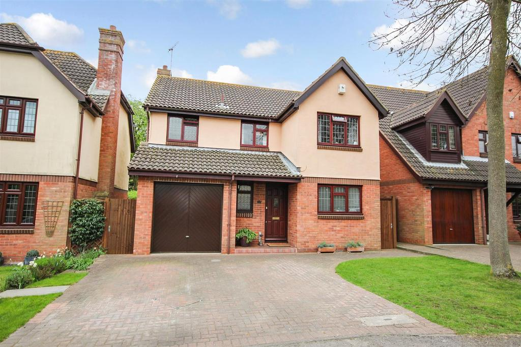 4 Bedrooms Detached House for sale in Maryfield Close, Bexley