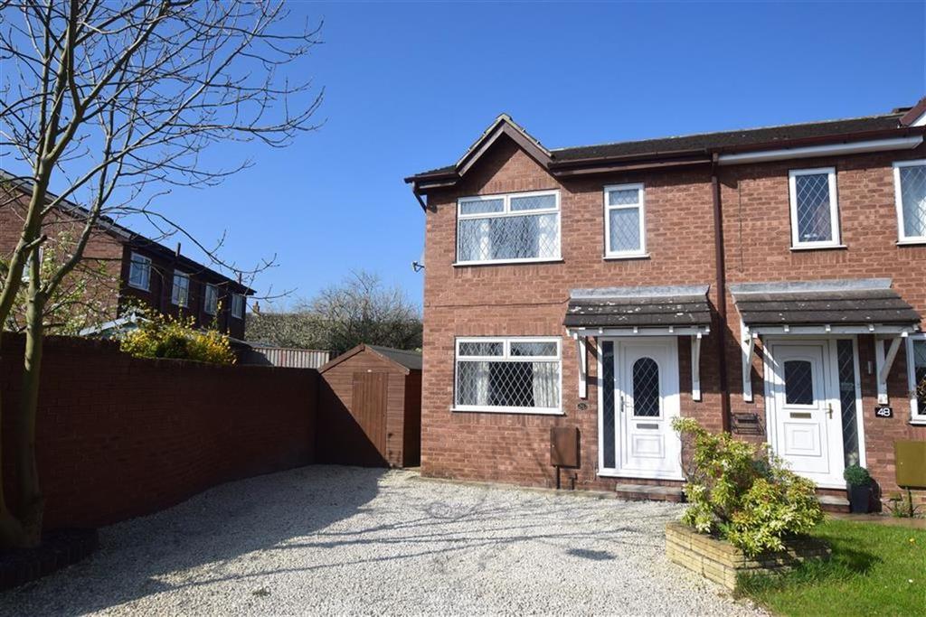 3 Bedrooms Semi Detached House for sale in Woodlands Drive, Skelmanthorpe, Huddersfield, HD8