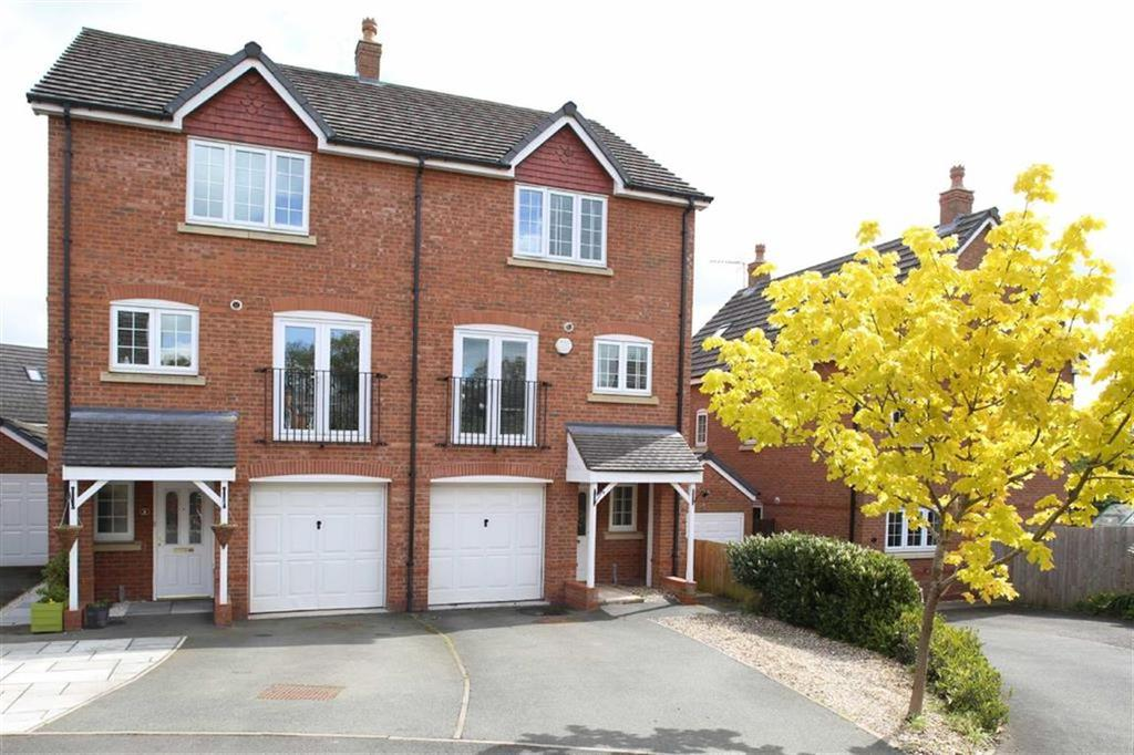 3 Bedrooms Semi Detached House for sale in Williamson Drive, Nantwich, Cheshire