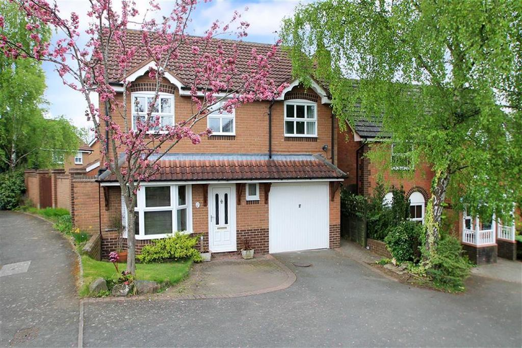4 Bedrooms Detached House for sale in Bowdler Close, Ludlow
