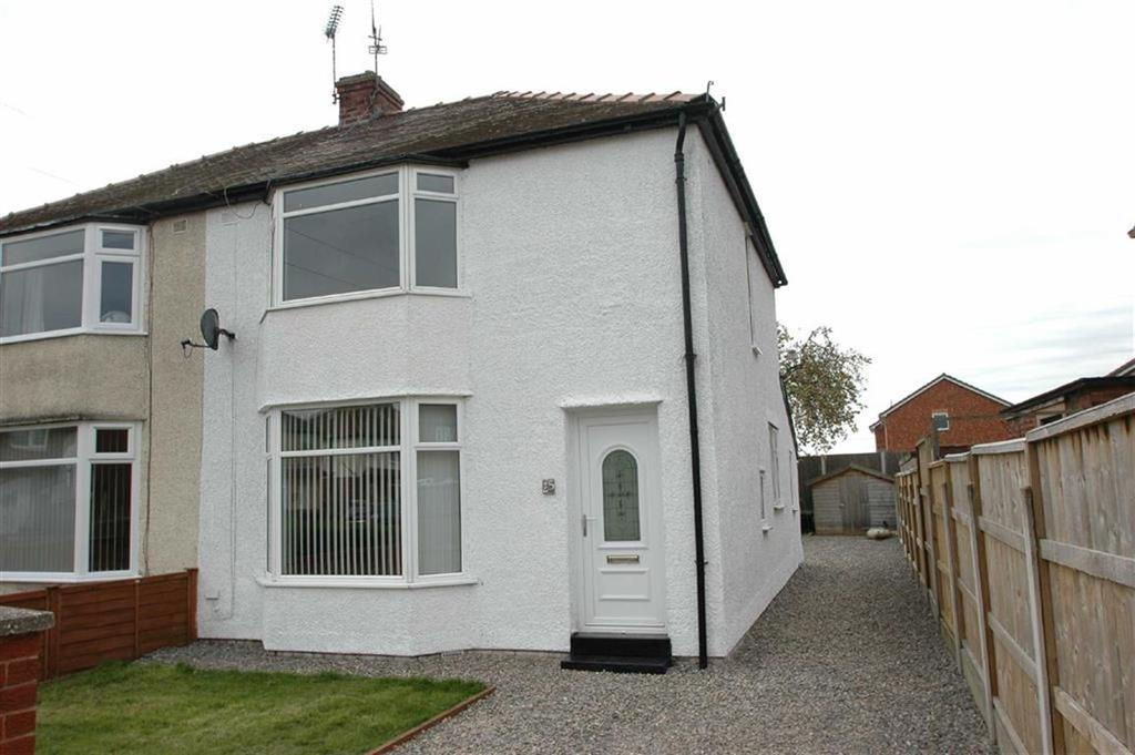 2 Bedrooms Semi Detached House for sale in Leyland Drive, Saltney Ferry, Chester