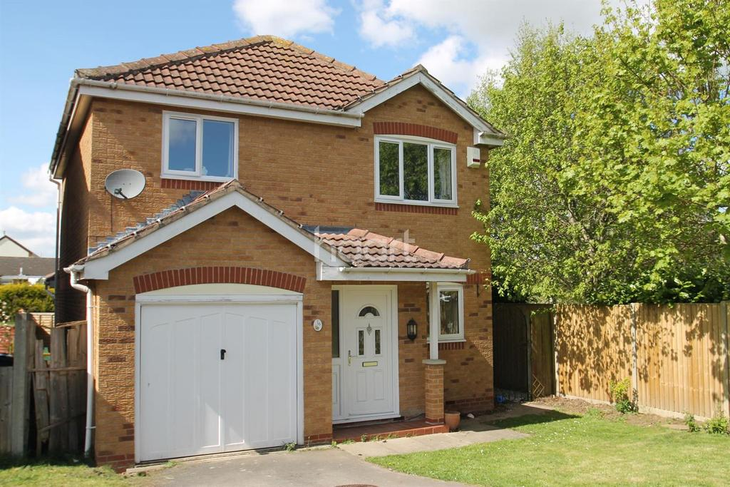 3 Bedrooms Detached House for sale in Baysdale Grove, Grantham, NG31 8QZ