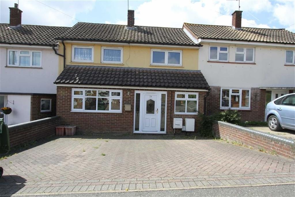 3 Bedrooms Terraced House for sale in Passingham Avenue, Billericay, Essex, CM11 2TD