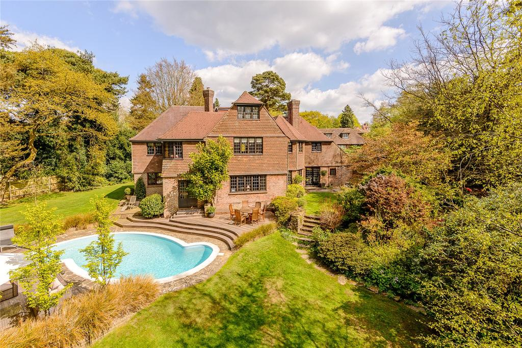 6 Bedrooms Detached House for sale in Tilford Road, Hindhead, Surrey