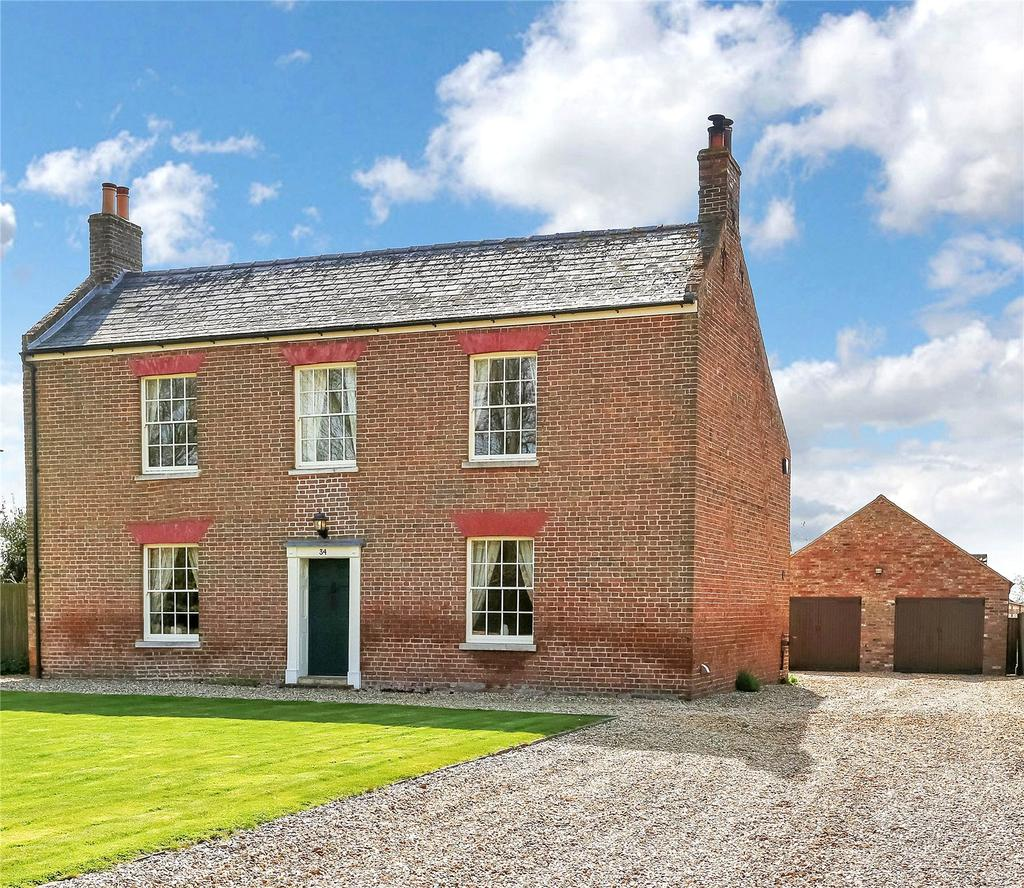 4 Bedrooms Detached House for sale in Main Road, Parson Drove, Wisbech, Cambridgeshire