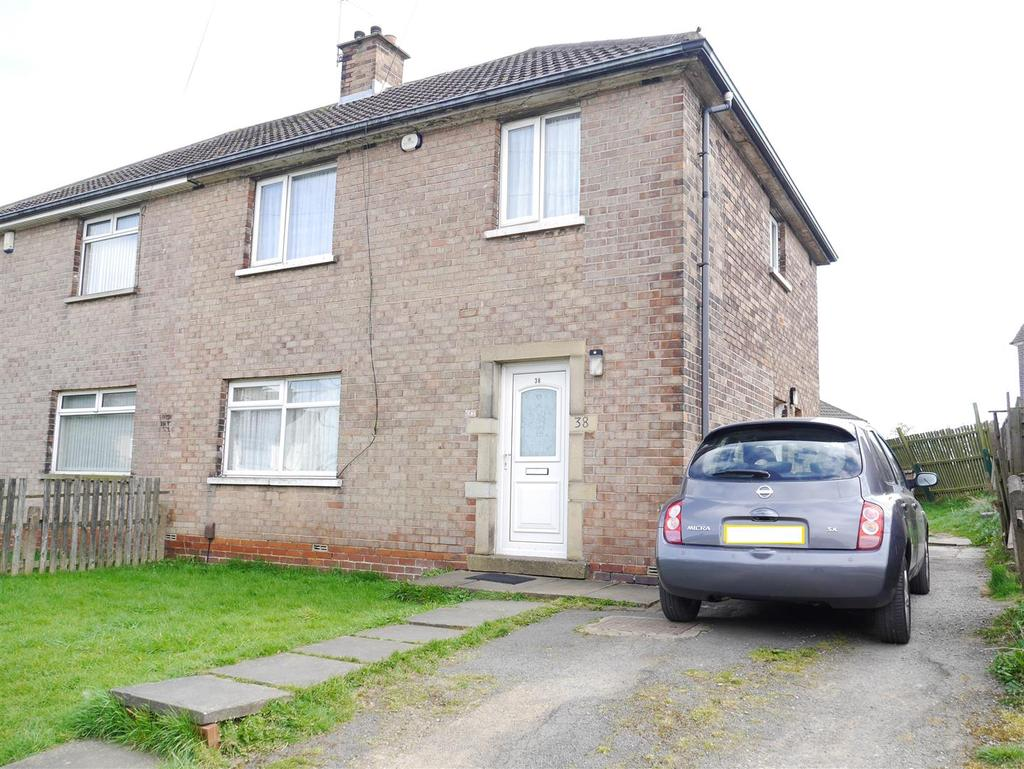 3 Bedrooms Semi Detached House for sale in Fencote Crescent, Fagley, Bradford, BD2 3PA